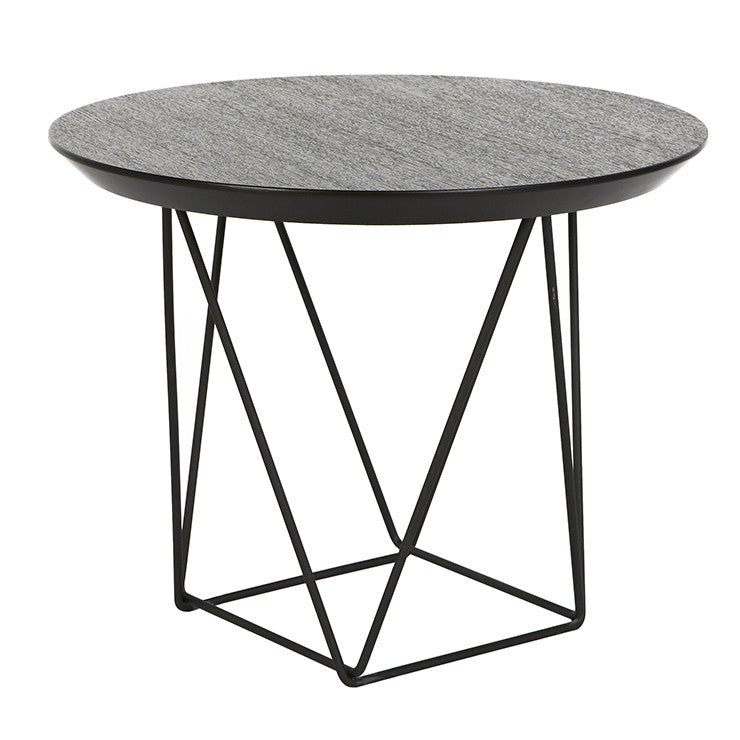 GLOBEWEST COMO MARBLE SIDE TABLES - The Banyan Tree Furniture & Homewares