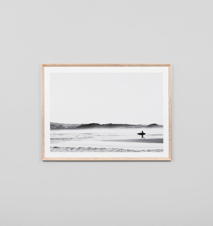 MORNING SURF · FRAMED PRINT - The Banyan Tree Furniture & Homewares