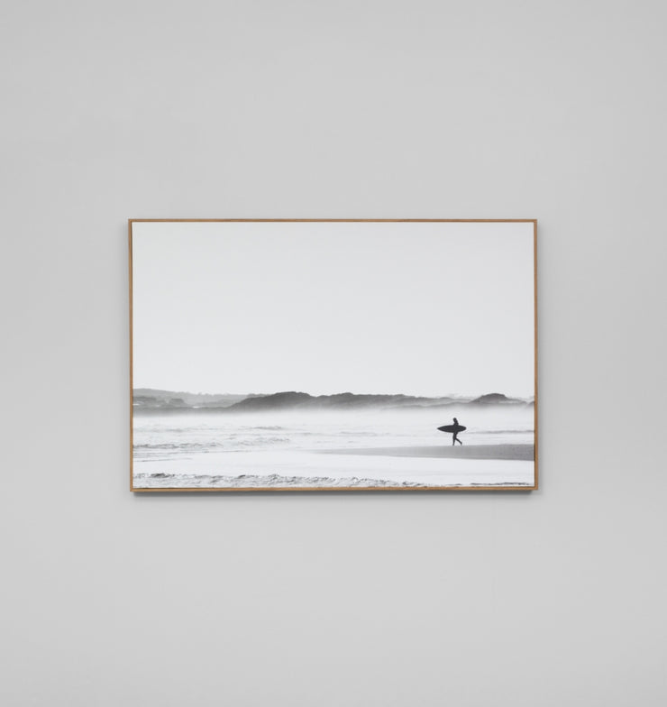 MORNING SURF · FRAMED CANVAS - The Banyan Tree Furniture & Homewares