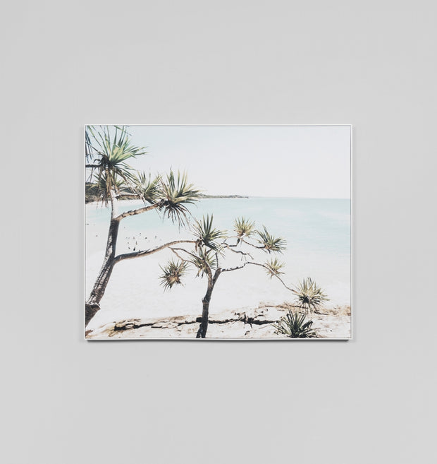 NORTHERN BEACH · FRAMED CANVAS
