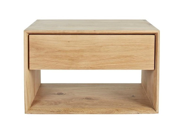 ETHNICRAFT OAK NORDIC NIGHTSTAND
