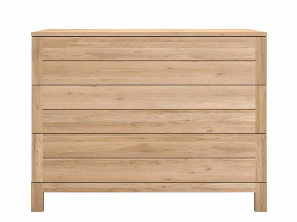 OAK AZUR CHEST OF DRAWERS ETHNICRAFT