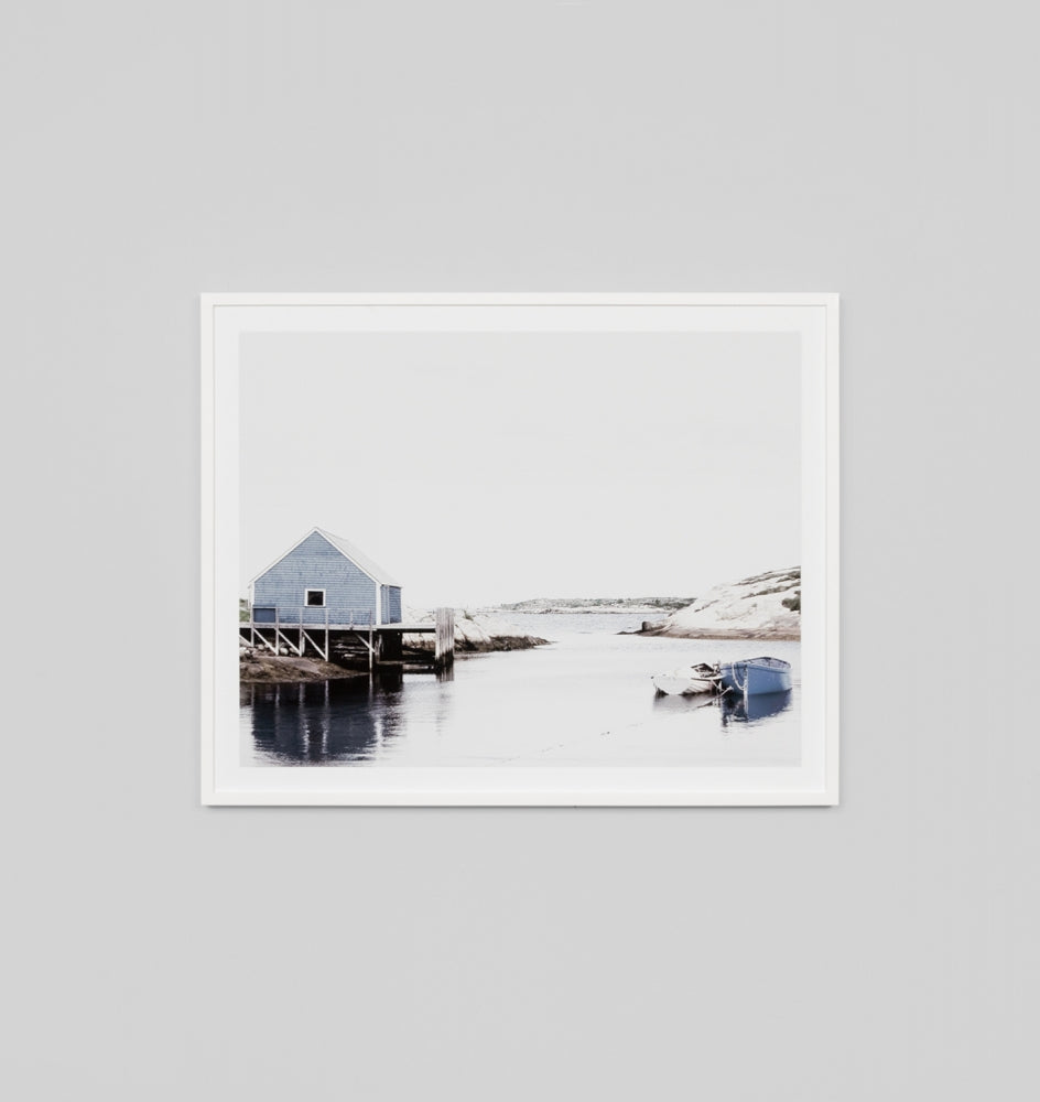 ROCKY COVE · FRAMED PRINT