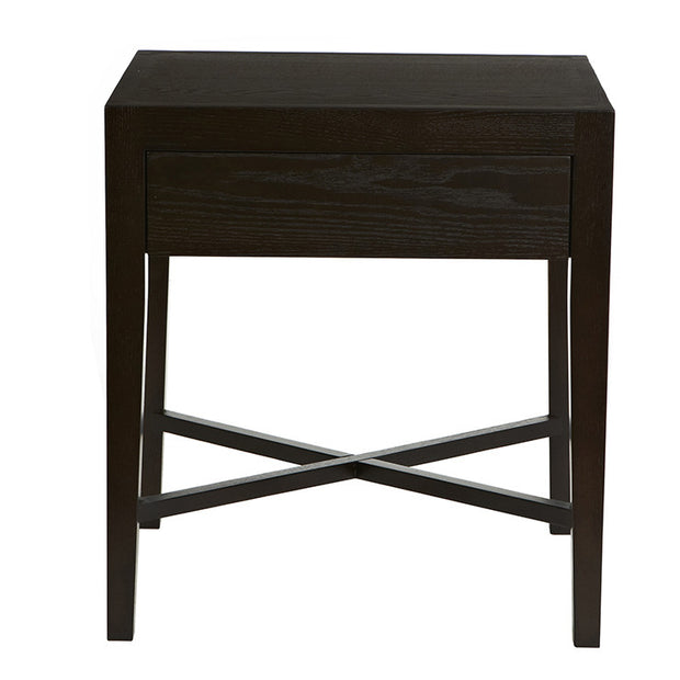 GLOBEWEST ASCOT OPEN BEDSIDE TABLE