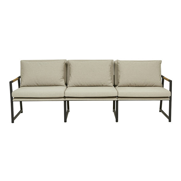GLOBEWEST ANTIGUA 3 SEATER SOFA