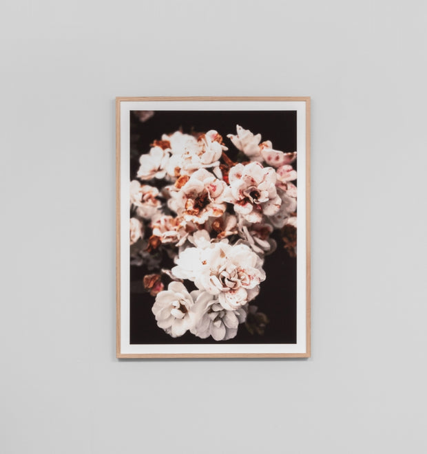 SPOTTED BLOOMS · FRAMED PRINT