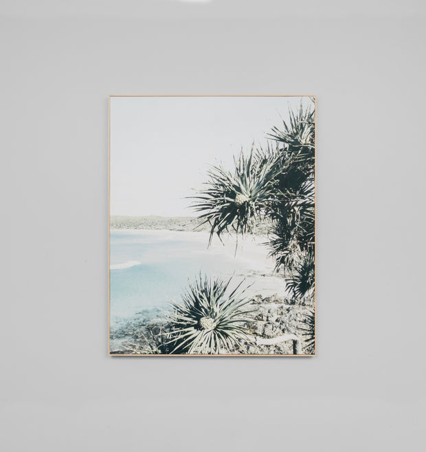 SUNNY BAY · FRAMED CANVAS