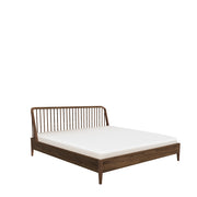 ETHNICRAFT WALNUT SPINDLE BED