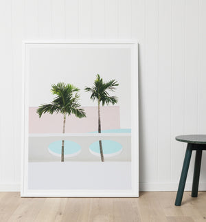 TROPICAL PAIR · FRAMED PRINT