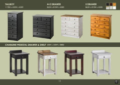 Pedestals & Bedroom Accessories