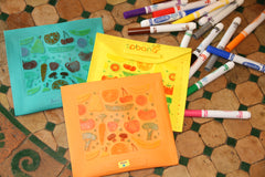 Mango Fruit & Veggies 'Notes' Reusable Bags
