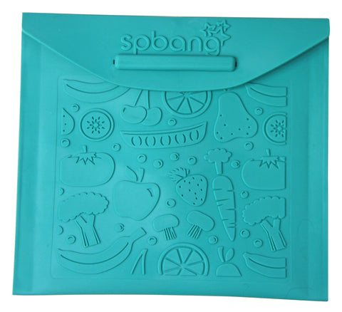 Ocean Fruit & Veggies Reusable Snack Bag