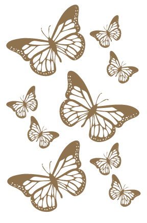 Butterflies, Gold