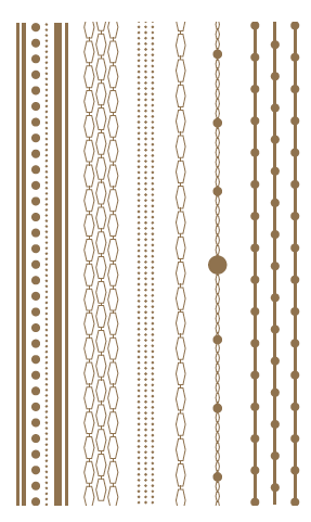 Chains with dots, Gold