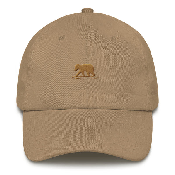 LIVE Logo Hat (Khaki with Brown Logo)