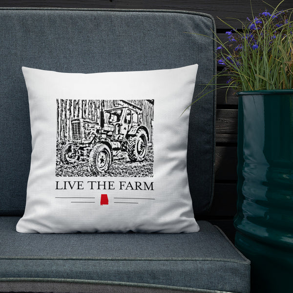 LIVE THE FARM Premium Pillow