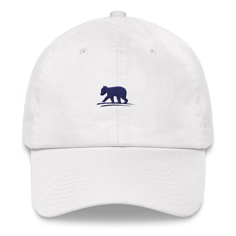 LIVE Logo Hat (White with Navy Logo)