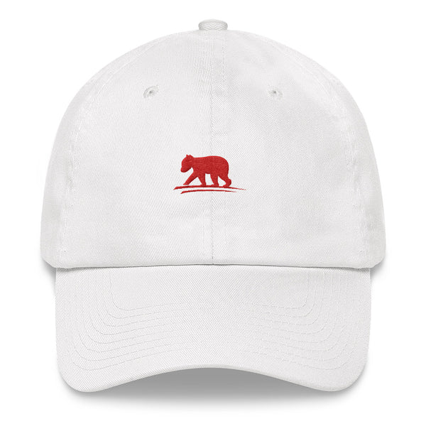 LIVE Logo Hat (White with Red Logo)
