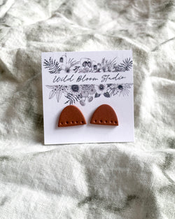 The Lilly Half Moon Earring