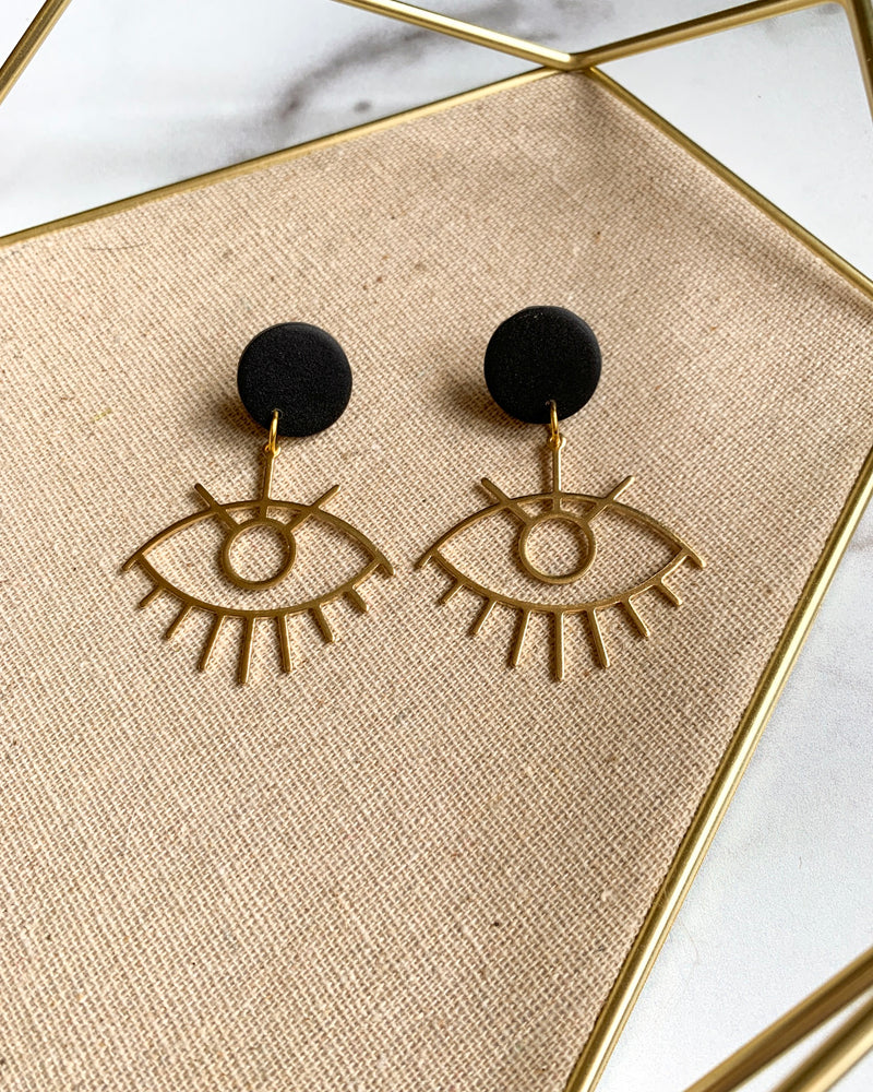 The Evil Eye Earring