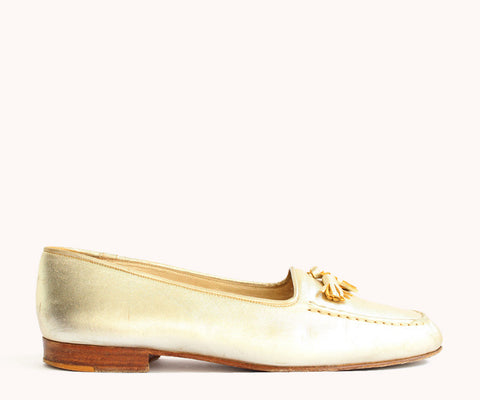 GOLDEN LOAFERS / 39