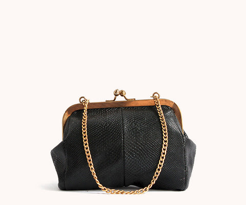 TINY BLACK HANDBAG