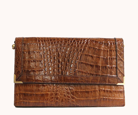 COOL CROCO CLUTCH