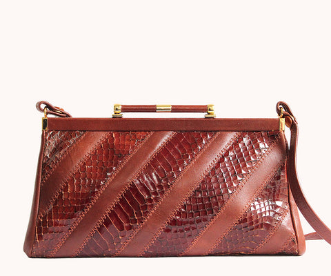 GENUINE SNAKESKIN BAG