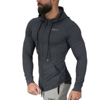 Men Sweatshirt Gyms Fitness