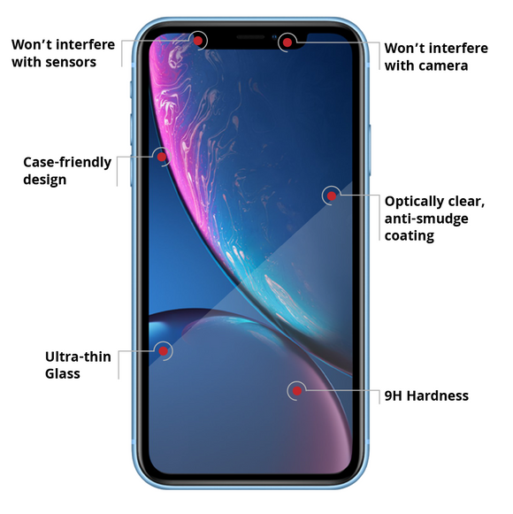 LG V30+ Tempered Glass