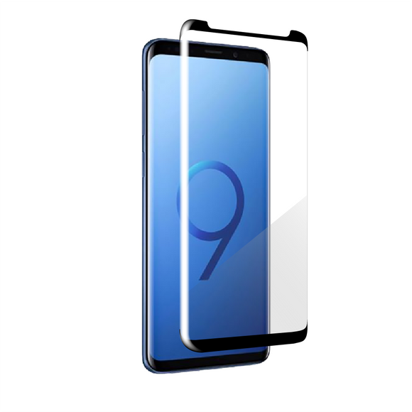Galaxy S9+  Edge-to-Edge Trim Tempered Glass