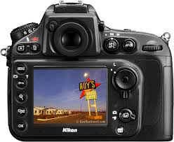 Nikon D800 - SHIELD Film Screen Protector