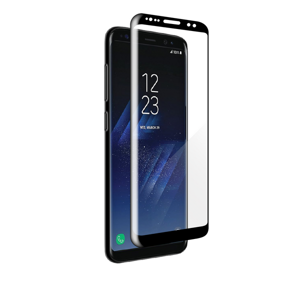 Galaxy S8 - Edge-to-Edge Trim Tempered Glass
