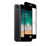 Apple iPhone 7 - Edge-to-Edge Black Trim Tempered Glass
