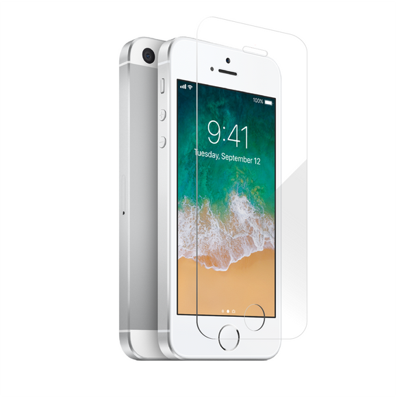 Apple iPhone 5 / 5s / SE - Case Friendly Tempered Glass