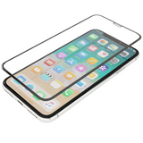Apple iPhone SE (2020) - Edge-to-Edge Black Trim Tempered Glass