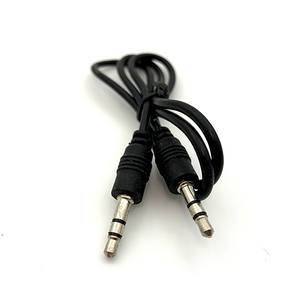 Basic 3.5 mm Male to Male Stereo Audio Aux Cable