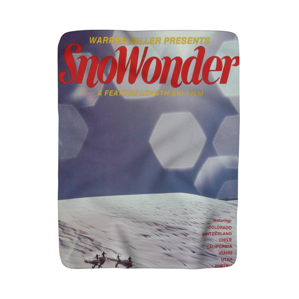 SnoWonder 1982 Sherpa Fleece Blanket