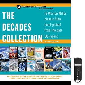 Decades Digital Collection (16 Films on USB)