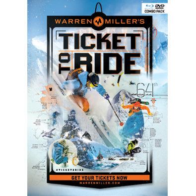 Ticket to Ride (2013) BluRay/Dvd Combo Pack