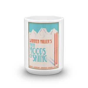 Many Moods of Skiing Coffee Mug