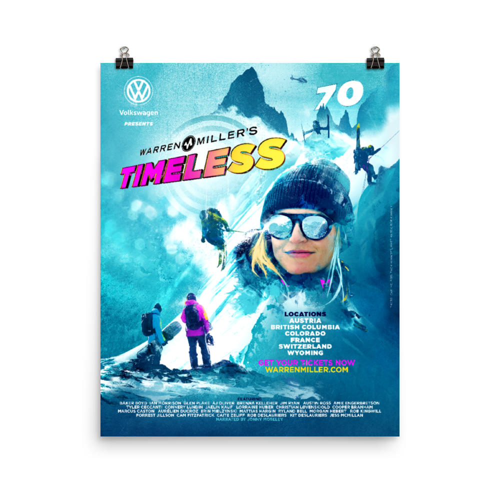 """Timeless"" (2019) Poster Print - multiple sizes"