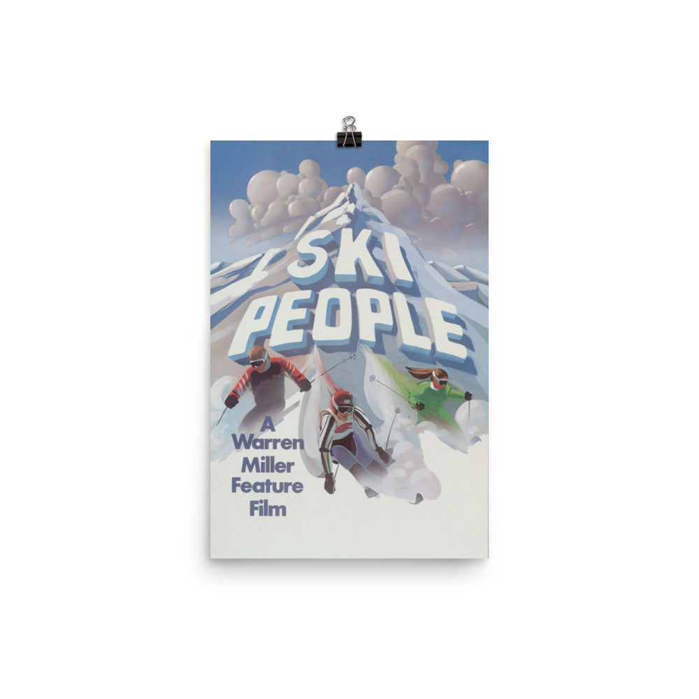 Ski People (1980) Poster Print - Multiple Sizes