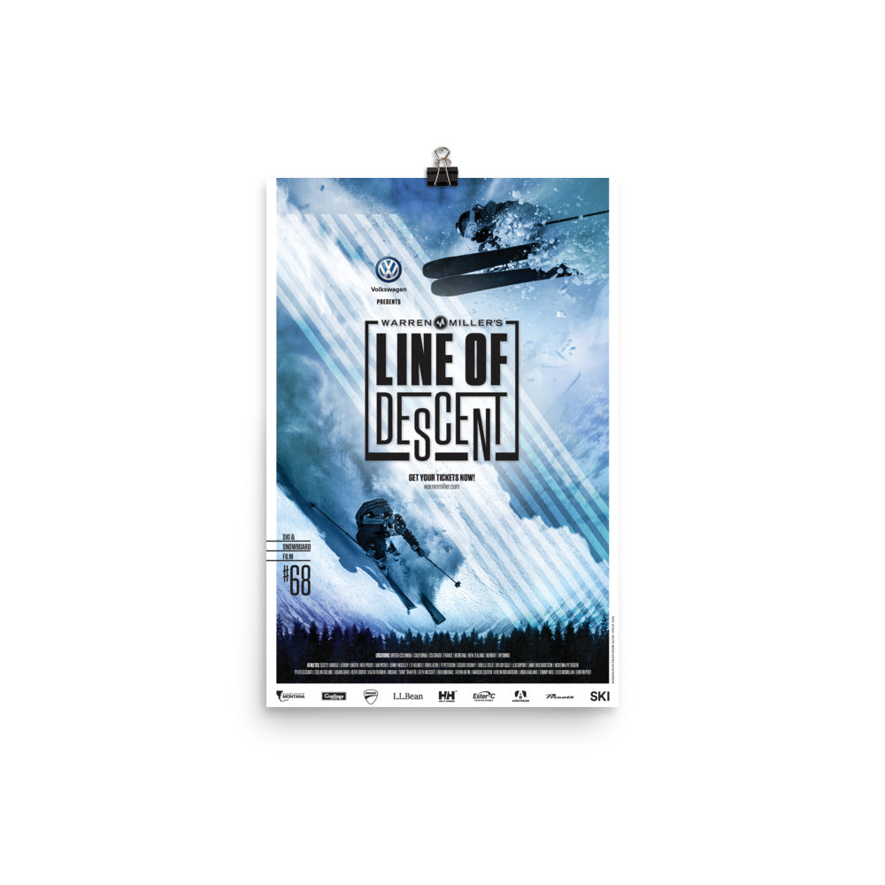 Line of Descent (2017) Poster Print- Multiple Sizes