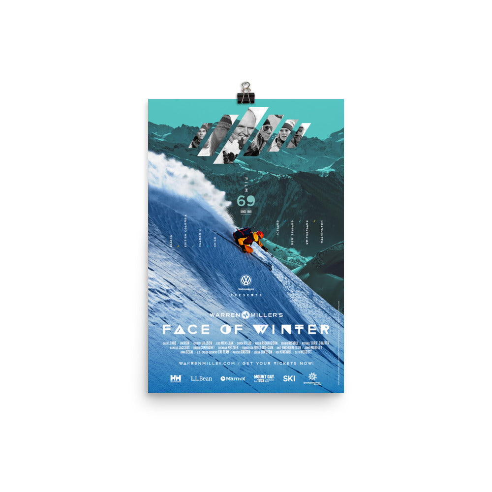Face of Winter (2018) Poster Print- Multiple Sizes
