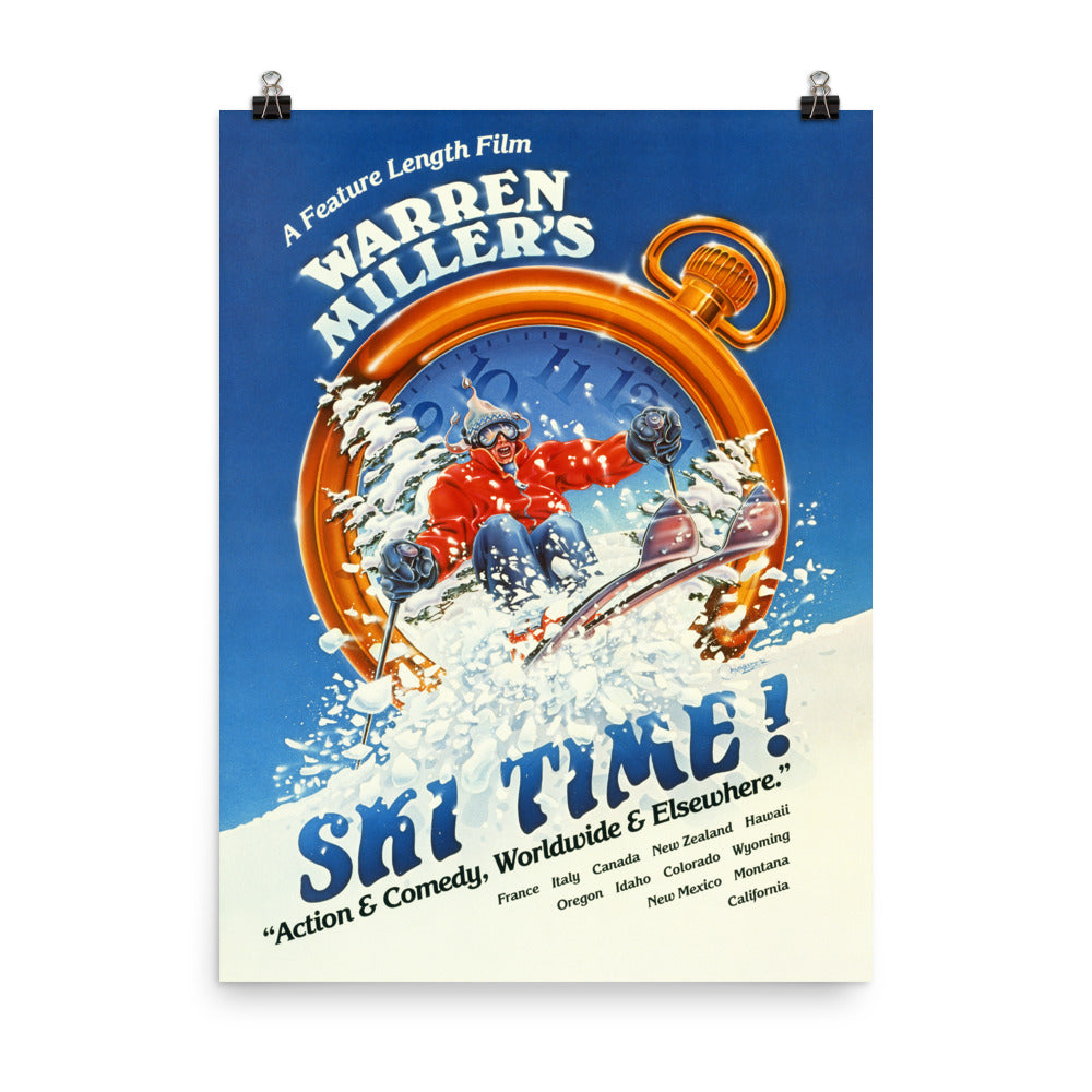 Ski TIme! (1983) Poster Print-Multiple Sizes