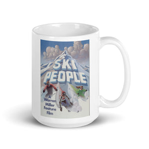 Ski People Coffee Mug