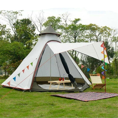 3-4 Person Family Camping  Waterproof Tepee