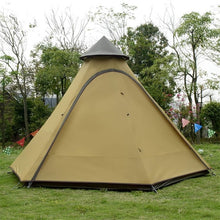 Load image into Gallery viewer, 3-4 Person Family Camping  Waterproof Tepee