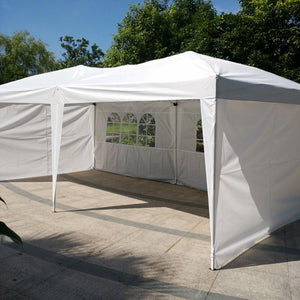 3 X 6m Two Windows Practical Waterproof Folding Tent White Outdoor Tent Gazebo Outdoor Tent Gazebo For Outdoor Beach